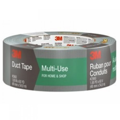 Scotch Multi-Use Duct Tape 1160-A 1.88 in x 60 yd (48.0 mm x 54.8 m)