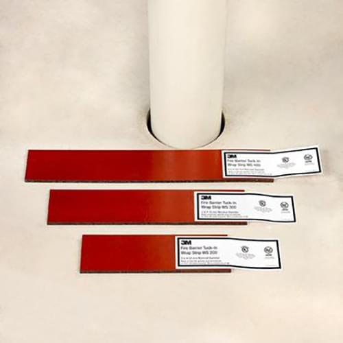 Tuck-In Wrap Strip, WS 400 , 4in Fire Barrier