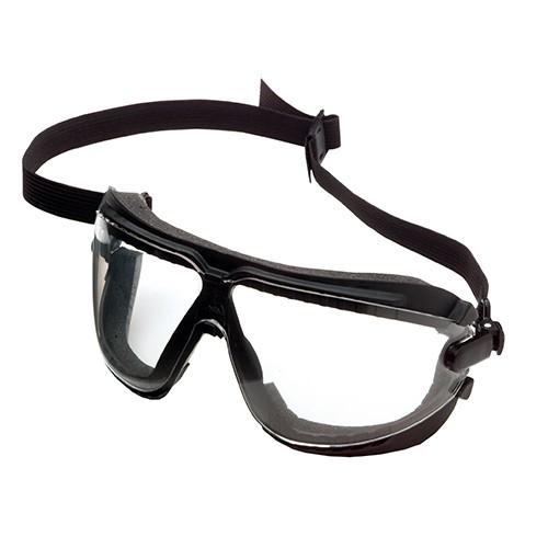 Dust Safety GoggleGear, 16617, Clear, Medium, Foam Flange