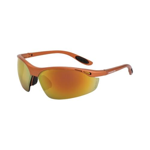 Talan Safety Glasses Copper Frame - Red Mirror Lens