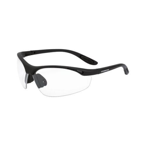 Talan Safety Glasses Matte Black Frame - Clear Lens
