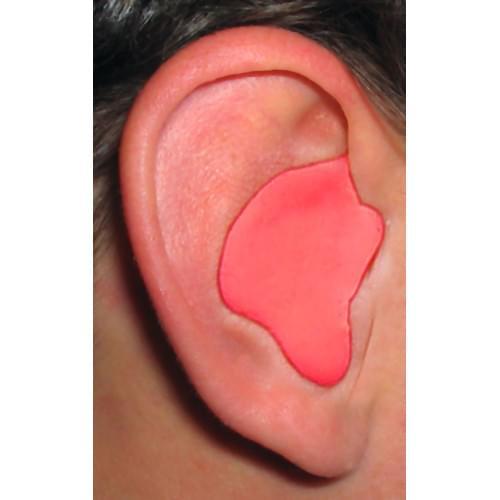CEP001-R, Red Custom Molded Earplugs