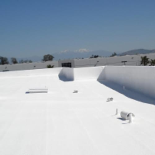 Quik-Shield, 1929F Acrylic Roof Coating, White, 55 Gallon