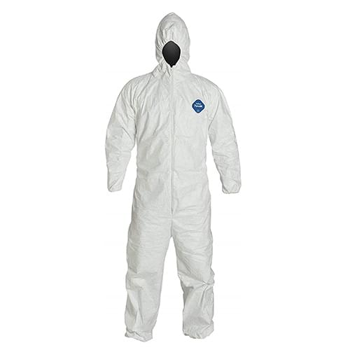 Tyvek Hood & boots Coveralls, 4X-Large