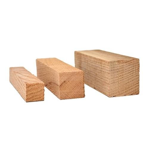Hardwood Wood Block, 2 X 2 X 6