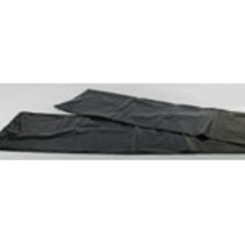 38x58 1 Mil 60 Gallon Low Density Black Trash Liner 100/case