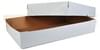 Two Piece White Full Sheet Cake Box 25X17X4.5 25/Bundle