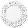 12'' Solid Glassine Doily 500Bx