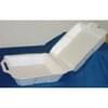 Medium 1-Compartment Foam Hinged Container 200/case