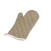 Thermotex II Beige 13'' Flame Retardant Oven Mitts 1 Pair/Pack