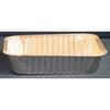 1 Compartment Foil Oblong School Feeding Container 1,000/Case