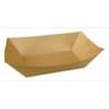 1lb Plain Kraft Food Tray 1,000/Case