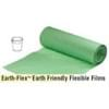 34x45 1 Mil 32 Gallon Green Compostable Trash Liner 100/case