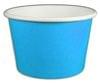 8oz Yogurt Paper Cup Blue 1,000/case