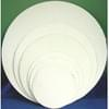 9'' White Top Cake Circle 250/Case