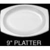 7X9 Laminate Oval Platter 500C