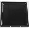 16''X16''Black Tray 20/Cs