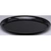 12'' Checkmate Black Round Tray 25/case