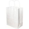 White Shopping Bag 13X7X17 250/Bundle