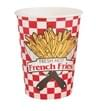 16oz Paper French Fry Cups 1,000/case
