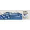 12x7x20.5'' White Plastic Mobil Mart Print Bag 1,000/case