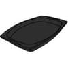 7x9'' Laminated Black Foam Platter 500/case
