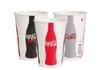 Coke 16oz Double Poly Paper Cold Cup Coke 1,000/case