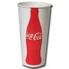 Coke 12oz Double Poly Squat Paper Cold Cup 2,000/case