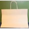 16X6X12 White Handled Shopping Bag 250/Case