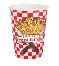 French Fry Red Check