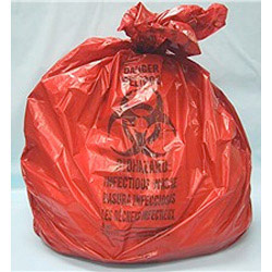 Red Low Density Trash Liners