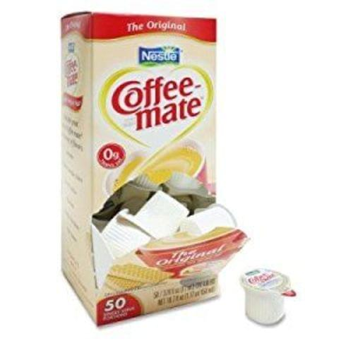 CoffeMate 50 Liquid Cups - Regular Flavor