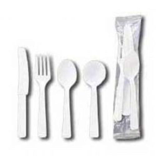 Spoon, White, Medium Weight, Boxed