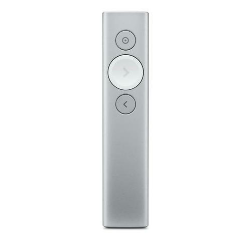 Logitech Spotlight Presentation Remote Control - Silver