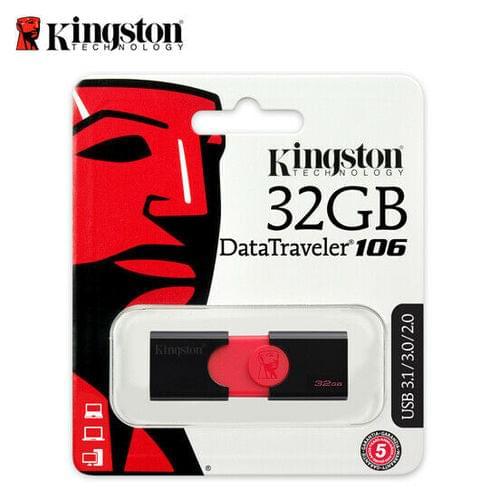 Kingston DataTraveler 106 32GB USB Flash Drive
