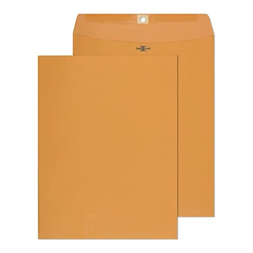 Heavyweight 10 x 13 Envelope Clasp (100 Pack)
