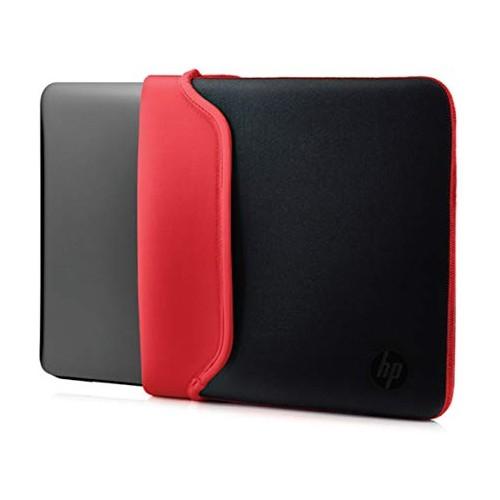 "HP Chroma Sleeve Black/Red 14"""