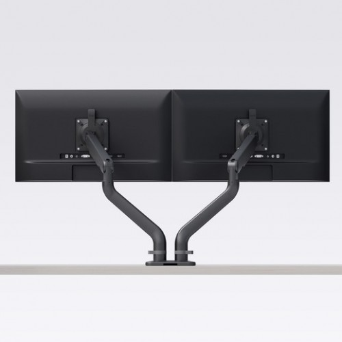 ESI Ergo Dual Monitor Arm (Black)