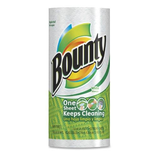 Bounty 2-Ply White Kitchen Paper Towel Roll