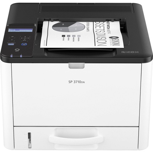 RICOH SP 3710DN Black and White (Monochrome) Laser Printer