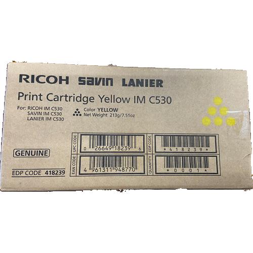Ricoh Print Cartridge Yellow IM C530