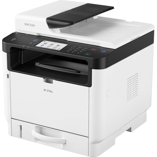 RICOH SP 3710SF Black and White (Monochrome) Laser Multifunction Printer
