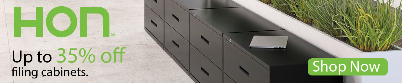 Up to 35% off HON Filing Cabinets at Kirk Office