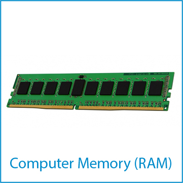 Random access memory (RAM) for computers