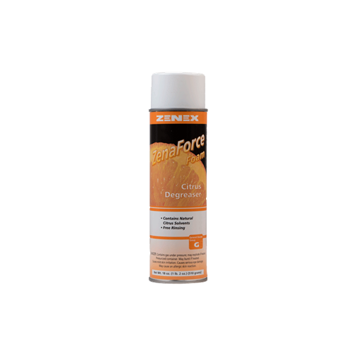 ZenaForce Foam Citrus Cleaner Degreaser 12/18oz/cs
