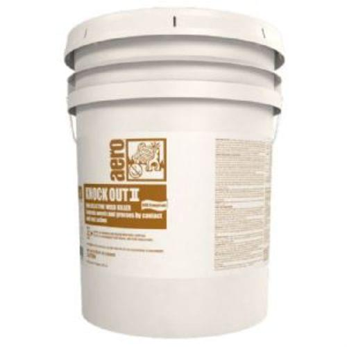 Knock-Out II VOC Compliant non-selective weed killer, 5 gal pail