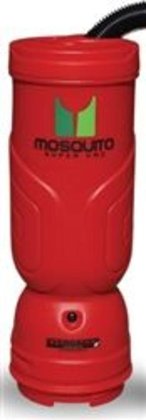 Mosquito Super Vac HEPA. 6 qt backpack vacuum with tools.