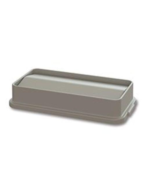 Swing Lid for 23 Gal MaxiRough Slim Container, Tan