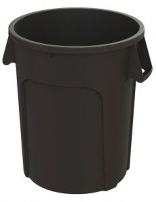 32 Gal MaxiRough Container without lid, Black