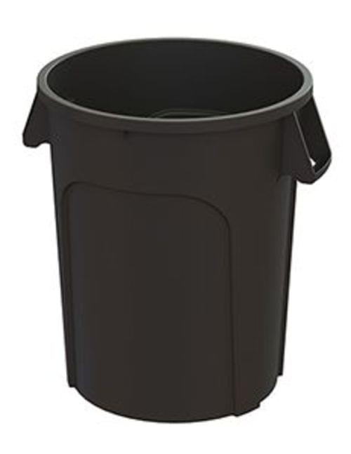 44 Gal MaxiRough Container without lid, Black